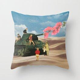 Love Not War Throw Pillow