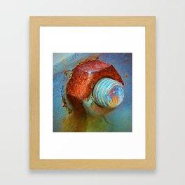 Nut and Bolt Framed Art Print