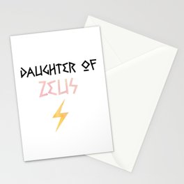 daughter of zeus Stationery Cards