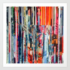 STRIPES 23 Art Print