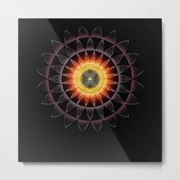 Black Hole Sun2018 Metal Print