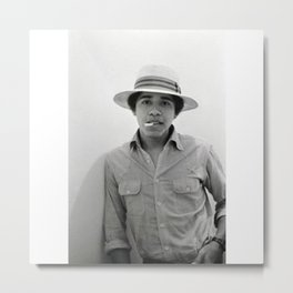 Barack Hussein Obama II - BLM - Society6 - First African American President Of The United States 223 Metal Print