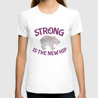 hippo T-shirts featuring Hippo Fitness by mailboxdisco