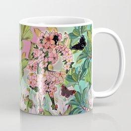 Vintage Flower Fairy Coffee Mug