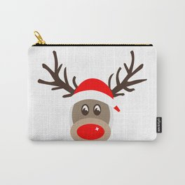 Rudolph Rednose Reindeer Carry-All Pouch