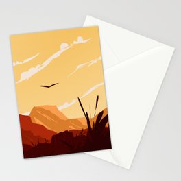 West Texas Landscape Stationery Cards