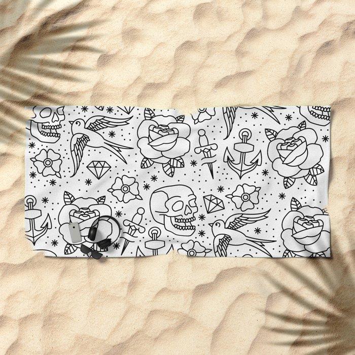 Flash Beach Towel