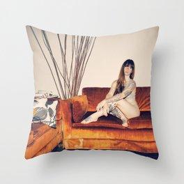 Hattie Couch Throw Pillow