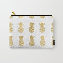 Mustard Goil Foil Pineapples Carry-All Pouch