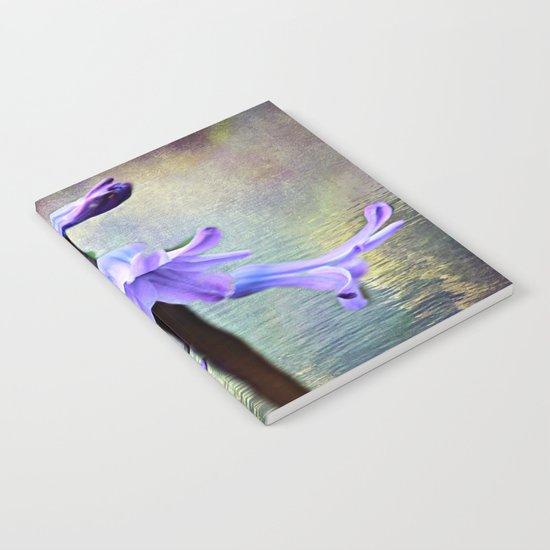 Hyacinth Flower Notebook