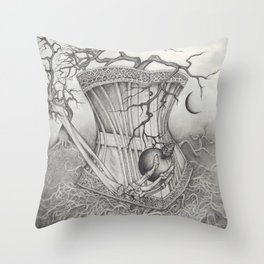 Apple Curse Throw Pillow