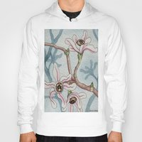 botanical Hoodies featuring Botanical Visions by Bonnie Johnson