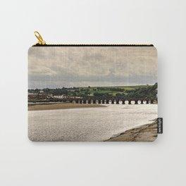 Bideford Long Bridge Devon Carry-All Pouch