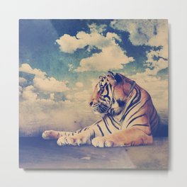 MAGIC ANIMALS : TIGER Metal Print