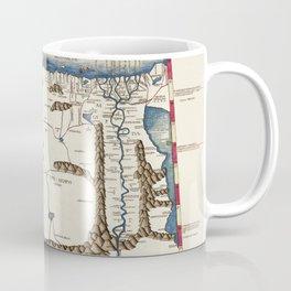 Map Of Africa 1478 Coffee Mug