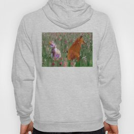 The hare and the fox Hoody