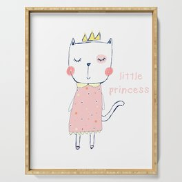 CAT CARTOON PRINCESS Serving Tray