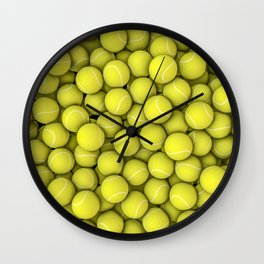 Tennis balls Wall Clock