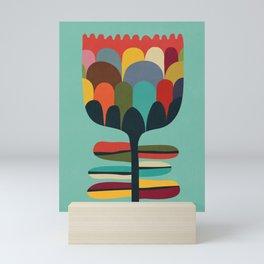 Flower Poet Mini Art Print