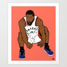 The Shot Art Print