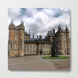 Holyrood Palace - Edinburgh United, Kingdom - Scotland Metal Print