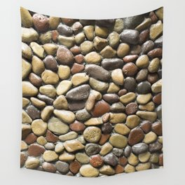 Wall pebble pattern Wall Tapestry
