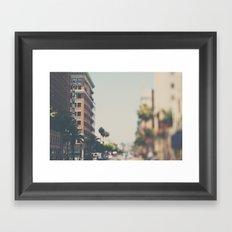 the Taft Building ... Framed Art Print