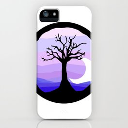 polar nights iPhone Case