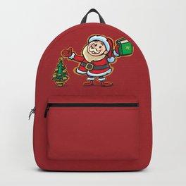 Santa Claus and Wish Balloon Backpack