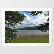 What a beautiful View. Art Print