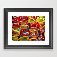 Peppers! Framed Art Print