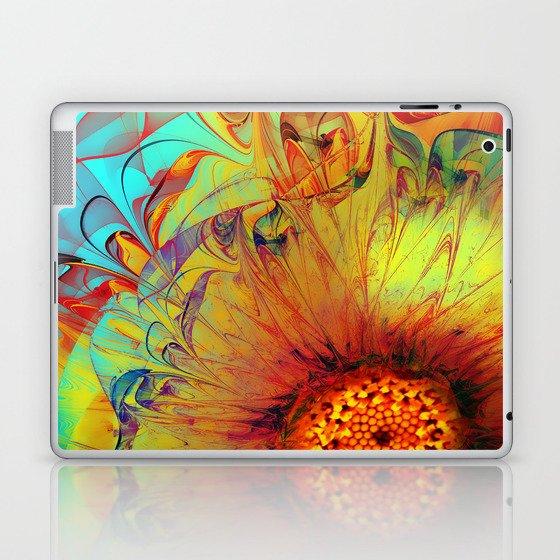 Sunflower Abstract Laptop & iPad Skin