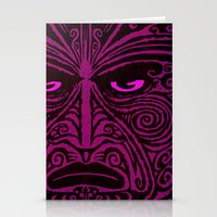 maori Stationery Cards featuring Maori style 02 by Alexis Bacci Leveille