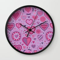 novelty Wall Clocks featuring Novelty by Aron Gelineau
