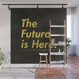 The Futura is Here Wall Mural