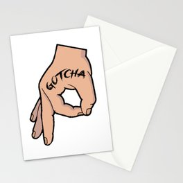 The Circle Game Gotcha Stationery Cards