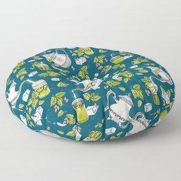 Moroccan Mint Tea Floor Pillow
