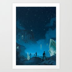 The Ethereal Underground Art Print