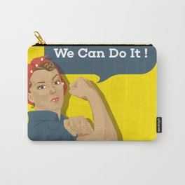 We can do it! - Classic Feminist Art Carry-All Pouch