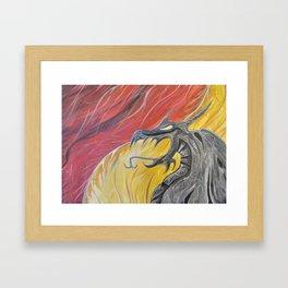 Brimstone Framed Art Print