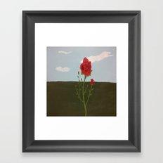Roses in Bloom Framed Art Print