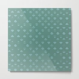 Dory Lines Metal Print
