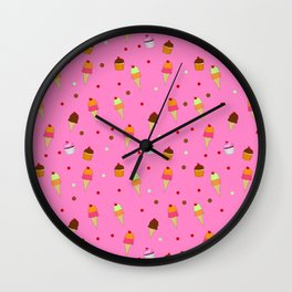 Sweets - Food Wall Clock