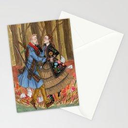 Lensky and Olga Stationery Cards