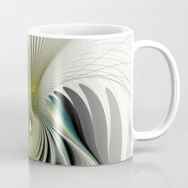 Fractal Have A Look, Modern Abstract Fantasy Coffee Mug