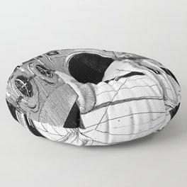 asc 996 - La lavandière de nuit (White as death) Floor Pillow