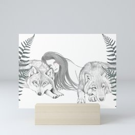 Wolf Pack Mini Art Print