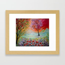 Magic Landscape Framed Art Print