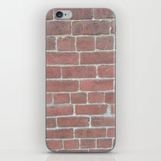 Soft Rock Brick Front iPhone & iPod Skin