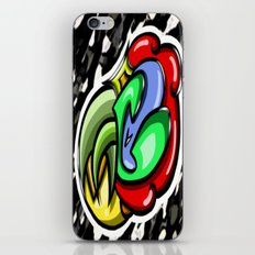 Digital Abstract Graffiti #4 iPhone & iPod Skin